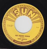 BURGESS • SONNY BURGESS - RED HEADED WOMAN