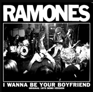 065 RAMONES - LTD CLEAR - I WANNA BE YOUR BOYFRIEND / JUDY IS A PUNK (clear)