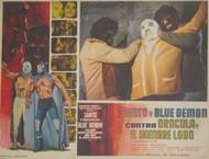 SANTO Y BLUE DEMON CONTRA DRACULA EL HOMBRE LOBO #1