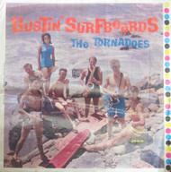 THE TORNADOES: BUSTIN' SURFBOARDS ORIG LP COVER SLICK