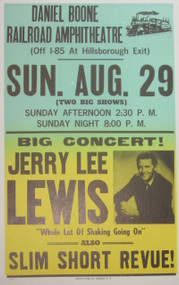 JERRY LEE LEWIS POSTER #1