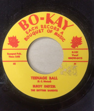ELROY DIETZEL - TEENAGE BALL