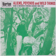 289 VARIOUS ARTISTS - ALIENS PSYCHOS AND WILD THINGS  LP (289)