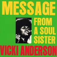 VICKI ANDERSON / LYNN COLLINS - MESSAGE FROM A SOUL SISTER (CD)