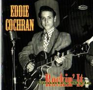 EDDIE COCHRAN - ROCKIN' IT COUNTRY STYLE (CD)