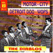 DIABLOS - MOTOR CITY DOO-WOPS VOL. 1 (CD)