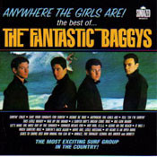 FANTASTIC BAGGYS - THE BEST OF: ANYWHERE THE GIRLS ARE! (CD)
