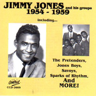 JIMMY JONES AND HIS GROUPS 1954-1959 (CD)