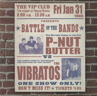 P-NUT BUTTER VS THE VIBRATOS (CD)