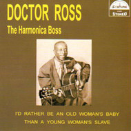 DOCTOR ROSS - THE HARMONICA BOSS (CD)