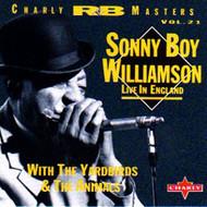 SONNY BOY WILLIAMSON - LIVE IN ENGLAND (CD)