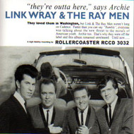 LINK WRAY AND THE RAY MEN - THEY'RE OUTTA HERE! (CD)