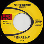 AL'S UNTOUCHABLES - COME ON BABY
