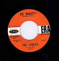 LYRICS - SO WHAT!