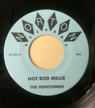 025 HENTCHMEN - HOT ROD MILLIE / OUR LITTLE RENDEZVOUS / RAWHIDE (025)