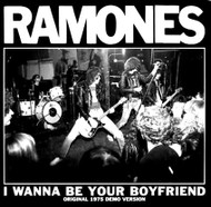065 RAMONES - I WANNA BE YOUR BOYFRIEND / JUDY IS A PUNK (red)