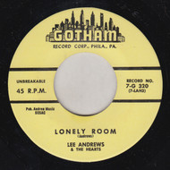 LEE ANDREWS AND THE HEARTS - LONELY ROOM
