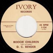 D.C. BENDER - BOOGIE CHILDREN