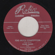 BUNN - ALLEN BUNN - TOO MUCH COMPETITION