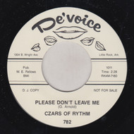 CZARS OF RHYTHM - PLEASE DON'T LEAVE ME