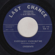 CRESENTS - EVERYBODY KNEW BUT ME
