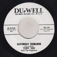 TONY DEE AND PAGENTS - SATURDAY ROMANCE