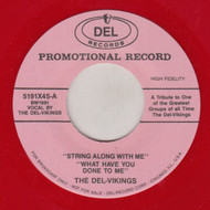 DEL VIKINGS - STRING ALONG WITH ME + 3