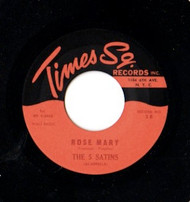 FIVE SATINS - ROSE MARY