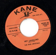 FIVE CRYSTALS - HEY LANDLORD