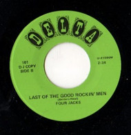 FOUR JACKS - LAST OF THE GOOD ROCKIN' MEN