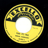 BERNIE HARDISON - YEAH IT'S TRUE/LOVE ME BABY