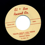FREDDY KING - THAT'S WHAT YOU THINK