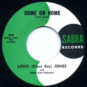 LOUIS 'BLUE BOY' JONES - COME ON HOME