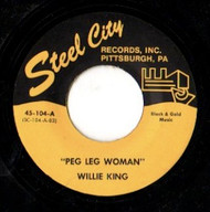 WILLIE KING - PEG LEG WOMAN