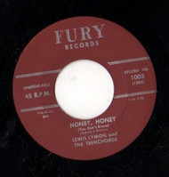 LEWIS LYMON AND THE TEENCHORDS - HONEY HONEY