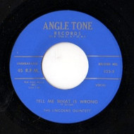 LINCOLNS QUARTET - TELL ME WHAT IS WRONG