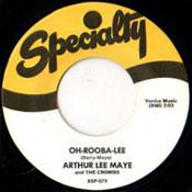 ARTHUR LEE MAYE - OH-ROOBA-LEE