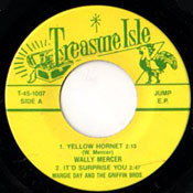 WALLY MERCER - YELLOW HORNET + 3