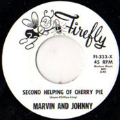 MARVIN AND JOHNNY - SECOND HELPING OF CHERRY PIE