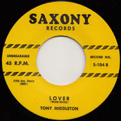 TONY MIDDLETON - LOVER