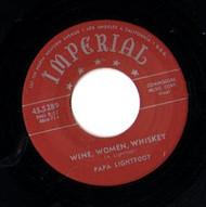 PAPA LIGHTFOOT - WINE, WOMEN, WHISKEY