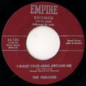 PRELUDES - I WANT YOUR ARMS AROUND ME