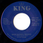PLATTERS - BEER BARREL BOOGIE