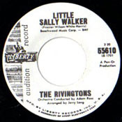 RIVINGTONS - LITTLE SALLY WALKER