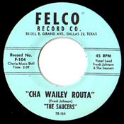 SAUCERS - CHA WAILEY ROUTA