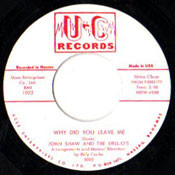 JOHN SHAW AND THE DELLOS - WHY DID YOU LEAVE ME