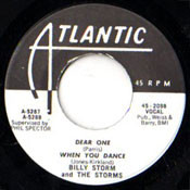 BILLY STORM - WHEN YOU DANCE + 3