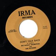 BIG MAMA THORNTON - DON'T TALK BACK