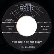 VELOURS - THIS COULD BE THE NIGHT
