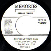 VELVETONES - GLORY OF LOVE